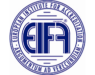 Logo EIFA, het European Institute For Accreditation
